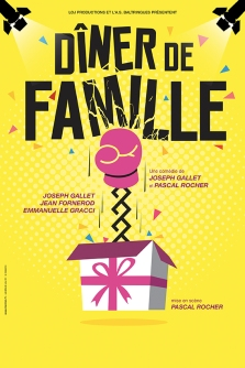 Diner de Famille - Affiche BD RVB
