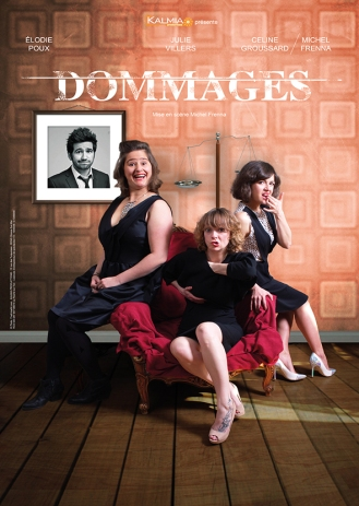 Affiche bd - Dommages